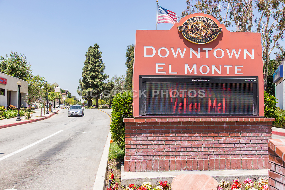 El Monte Business District