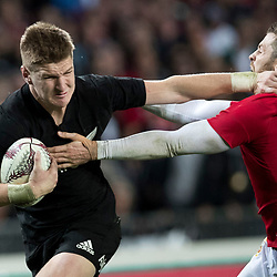 Jordie Barrett  during game 9 of the British and Irish Lions 2017 Tour of New Zealand, the second Test match between  The All Blacks and British and Irish Lions, Westpac Stadium, Wellington, Saturday 1st July 2017<br /> (Photo by Kevin Booth Steve Haag Sports)<br /> <br /> Images for social media must have consent from Steve Haag