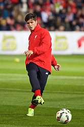 ADELAIDE, AUSTRALIA - Sunday, July 19, 2015: Liverpool's Pedro Chirivella during a training session at Coopers Stadium ahead of a preseason friendly match against Adelaide United on day seven of the club's preseason tour. (Pic by David Rawcliffe/Propaganda)