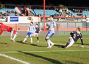 Steven Milne equalises for Dundee - Dundee v Kilmarnock, William Hill Scottish FA Cup 4th Round,..- © David Young - .5 Foundry Place - .Monifieth - .DD5 4BB - .Telephone 07765 252616 - .email; davidyoungphoto@gmail.com - .web; www.davidyoungphoto.co.uk.