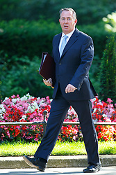 © Licensed to London News Pictures. 19/07/2016. London, UK. International Trade Secretary LIAM FOX attending the first cabinet meeting under Theresa May's leadership in Downing Street on Tuesday, 19 July 2016. Photo credit: Tolga Akmen/LNP