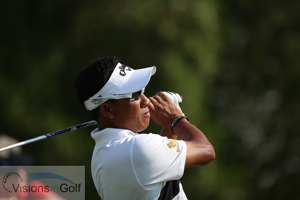 Thongchai Jaidee<br /> at the DP World Tour Championship, Jumeirah Golf Estates Earth, Dubai UAE 2012<br /> Picture Credit:  Mark Newcombe / www.visionsingolf.com