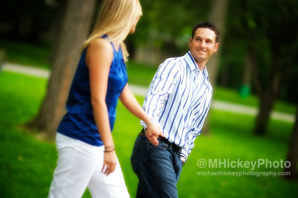 Engagement photos of Nicole Henseleit and Matt Geary.