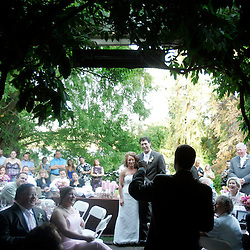 Wedding of Samantha & Joe, St. Patrick Church, Tacoma, reception at Lakewood Gardens.