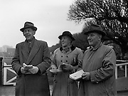 05/02/1957<br /> 02/05/1957<br /> 05 February 1957<br /> R.D.S. Bull show first day, in Ballsbridge, Dublin. Some of the visitors to the show.