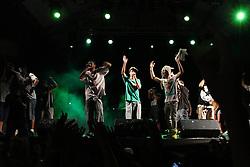 Eltin MC no palco Hip Funk do Planeta Atlântida 2013/RS, que acontece nos dias 15 e 16 de fevereiro na SABA, em Atlântida. FOTO: Marcos Nagelstein/Preview.com