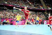 DESCRIZIONE : Handball Jeux Olympiques Londres Quart de Finale<br /> GIOCATORE : Anders Eggert<br /> SQUADRA : Danemark Homme<br /> EVENTO : Handball Jeux Olympiques<br /> GARA : Danemark Suede<br /> DATA : 08 08 2012<br /> CATEGORIA : handball Jeux Olympiques<br /> SPORT : HANDBALL<br /> AUTORE : JF Molliere <br /> Galleria : JEUX OLYMPIQUES 2012 Action<br /> Fotonotizia : Handball Homme Jeux Olympiques Londres Quart de Finale Basketball Arena<br /> Predefinita :