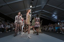 September 12, 2016 - Madrid, Spain - Highly Preppy parade in the fashion week TRESemmé MFSHOW WOMEN held at the Museum of Costume in Madrid, on September 12, 2016. (Credit Image: © Oscar Gonzalez/NurPhoto via ZUMA Press)