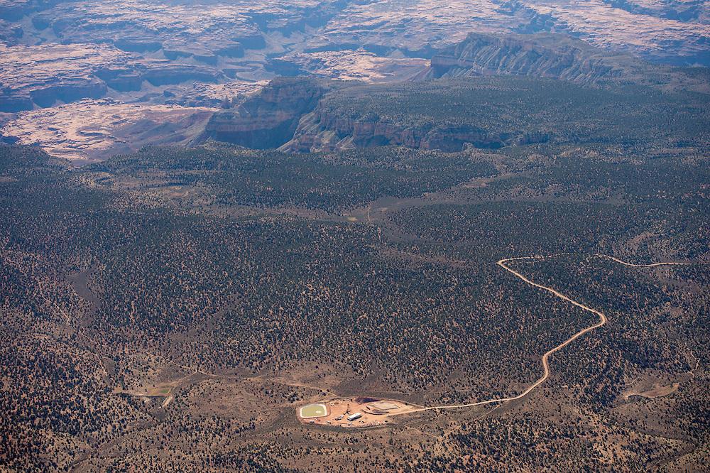 062513       Brian Leddy<br /> The Pinenut uranium mine operates near the rim of the Grand Canyon.
