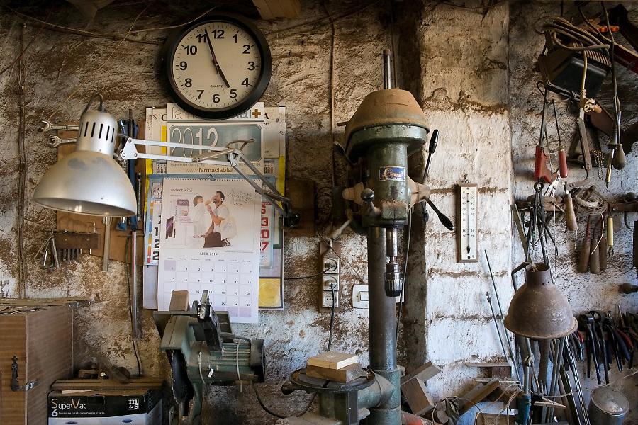 /EN/ The workshops of craftmen and artists are still active /ES/ Se conservan los talleres de artesanos y artistas.