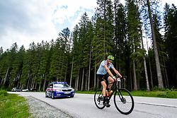 Miha Planovsek competes at Sloveian Road Cycling Championship Time Trial 2020 Gorje - Pokljuka, on June 28, 2020 in Pokljuka, Slovenia. Photo by Matic Klansek Velej / Sportida