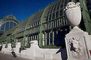 The Palmenhaus (Greenhouse) at the Burggarten.