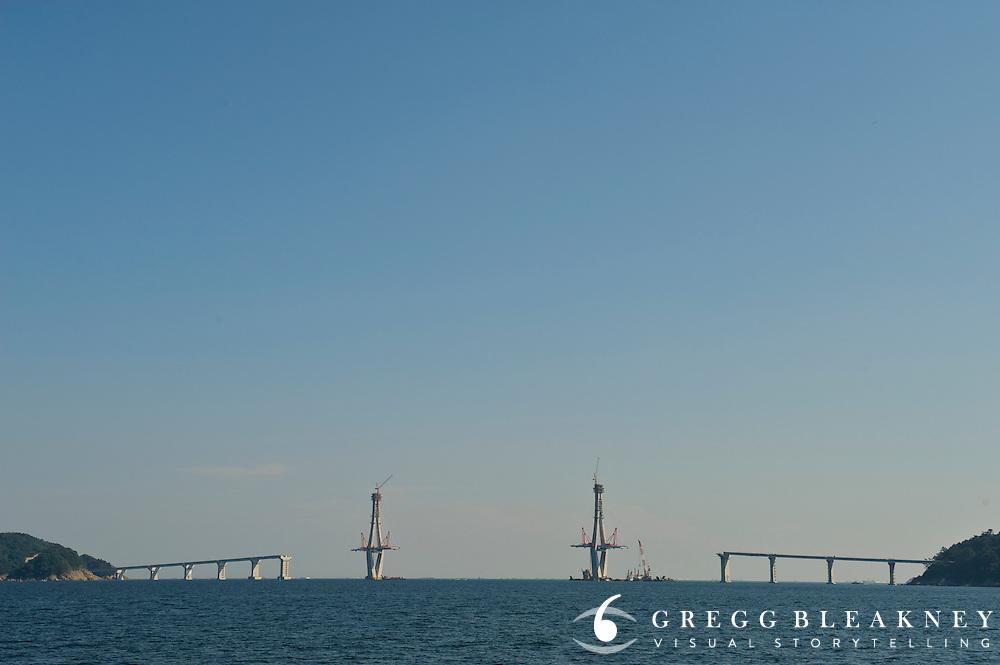 New Geoje Bridge - Geoje Island - South Korea