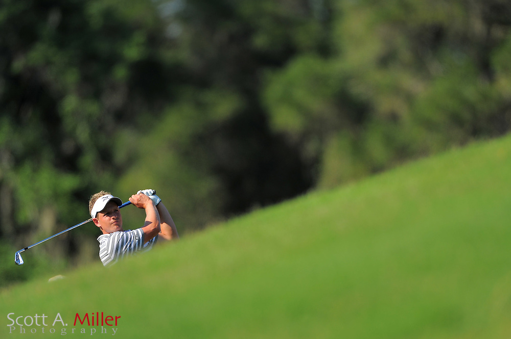 Luke Donald during the first round of the Players Championship at the TPC Sawgrass on May 10, 2012 in Ponte Vedra, Fla. ..©2012 Scott A. Miller..