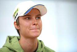 Teja Gregorin, World Champion at Press conference after Summer World Championship in rolling in Haute Maurienne Vanoise, France, on September 29, 2008, in SZS in Ljubljana.  (Photo by Vid Ponikvar / Sportal Images)
