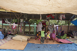 December 11, 2016 - Merudeu, Aceh, Indonesia - Aceh, Pidie, 11 December 2016 : Almost 45,000 people homeless after 6.5 SR earth quake hit Pidie-Aceh. The refugee living at the tent waiting for their houses rebuilt again. Help of food and blanket supply still coming to help some refugee that still unreachable. (Credit Image: © Donal Husni via ZUMA Wire)