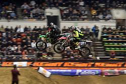 November 23, 2018 - Lyon, France - 16th edition of the Lyon Supercross during the SX Tour at the Palais des Sport de Gerland, in Lyon, France, on November 23rd, 2018. (Credit Image: © Nicolas Liponne/NurPhoto via ZUMA Press)