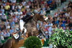 Daniel Bluman, (COL), Conconcreto Sancha LS - World Champions, - Second Round Team Competition - Alltech FEI World Equestrian Games™ 2014 - Normandy, France.<br /> © Hippo Foto Team - Leanjo De Koster<br /> 25/06/14