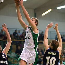 20101207: SLO, Basketball - EuroChallenge, KK Krka vs Prostejov