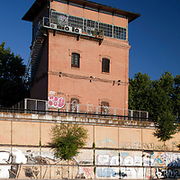 Former railroad tower, Torneo street, Seville, Spain