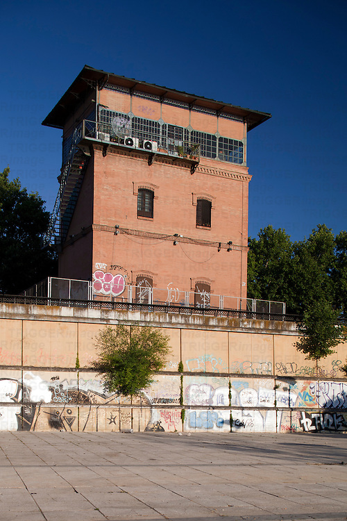 Former railroad tower, Torneo street, Seville, Spain