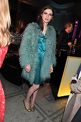 TALI LENNOX at a private view of Photographs by Cecil Beaton celebrating the diamond jubilee of HM The Queen Elizabeth 11 at the Victoria & Albert Museum, Cromwell Road, London on 6th February 2012.