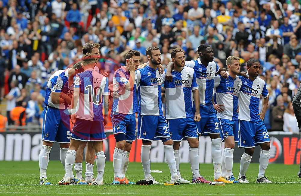 Bristol Rovers - Photo mandatory by-line: Neil Brookman/JMP - Mobile: 07966 386802 - 17/05/2015 - SPORT - football - London - Wembley Stadium - Bristol Rovers v Grimsby Town - Vanarama Conference Football