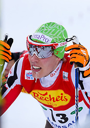 17.12.2016, Nordische Arena, Ramsau, AUT, FIS Weltcup Nordische Kombination, Langlauf, im Bild Franz-Josef Rehrl (AUT) im Ziel // Franz-Josef Rehrl of Austria in the finish area during Cross Country Competition of FIS Nordic Combined World Cup, at the Nordic Arena in Ramsau, Austria on 2016/12/17. EXPA Pictures © 2016, PhotoCredit: EXPA/ Martin Huber