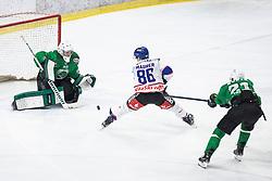 Ice hockey match between HK SZ Olimpija and EC Die Adler Kitzbühel in Round #30 of Alps Hockey League 2019/20, on January 9, 2020, in Hala Tivoli, Ljubljana, Slovenia. Photo By Grega Valancic / Sportida