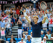Davis Cup Quarter Final GB v France Tie 3 - 18/07/2015
