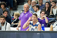 Real Madrid's Jaycee Carroll during Turkish Airlines Euroleague match between Real Madrid and FC Barcelona Lassa at Wizink Center in Madrid, Spain. March 22, 2017. (ALTERPHOTOS/BorjaB.Hojas)