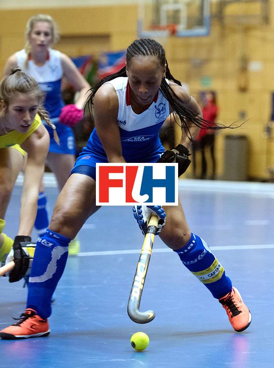 BERLIN - Indoor Hockey World Cup<br /> Australia - Namibia<br /> foto: MENGO Magreth (C)<br /> WORLDSPORTPICS COPYRIGHT FRANK UIJLENBROEK