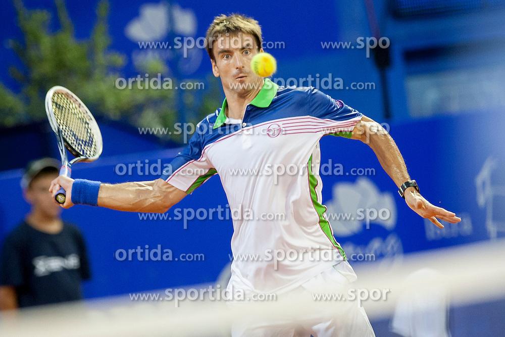 Tommy Robredo of Espana during final of singles at 25th Vegeta Croatia Open Umag, on July 27, 2014, in Stella Maris, Umag, Croatia. Photo by Urban Urbanc / Sportida