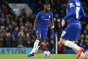 Chelsea Defender Antonio Rudiger during the The FA Cup fourth round match between Chelsea and Sheffield Wednesday at Stamford Bridge, London, England on 27 January 2019.