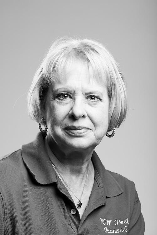 Pamela Gayhearth-Walston<br /> Army<br /> E-4<br /> LPN<br /> 1972 - 1975<br /> Vietnam<br /> <br /> Veterans Portrait Project<br /> St. Louis, MO