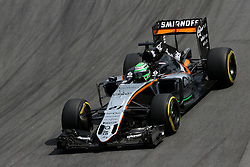 Nico Hulkenberg (GER) Sahara Force India F1  <br /> 11.11.2016. Formula 1 World Championship, Rd 20, Brazilian Grand Prix, Sao Paulo, Brazil, Practice Day.<br /> Copyright: Charniaux / XPB Images / action press