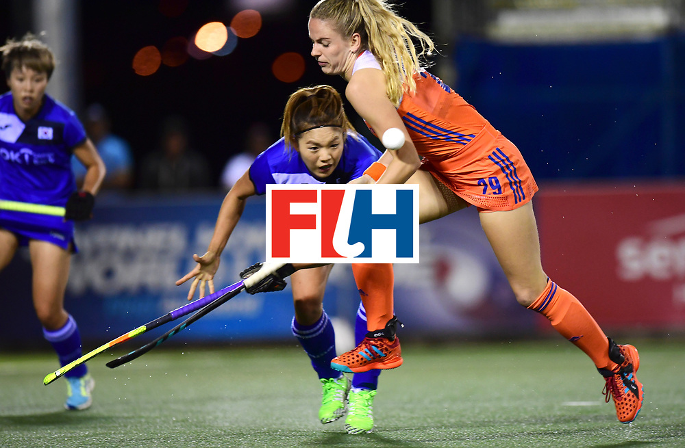 AUCKLAND - Sentinel Hockey World League final women<br /> Match id:<br /> 18 NED v KOR (Semi Final)<br /> Foto: Maartje Krekelaar <br /> WORLDSPORTPICS COPYRIGHT FRANK UIJLENBROEK