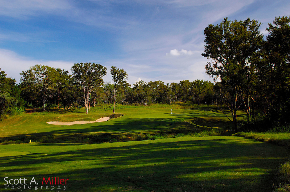 September 8, 2007, Lost Pines, Texas; Hole No. 2 at Wolfdancer Golf Club......©2007 Scott A. Miller