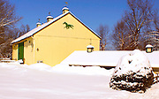 Winter, snow, barn landscape, Cumru Township, Berks Co., PA