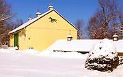 Winter, snow, barn landscape, Cumru Township, Berks Co., PA