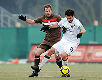 v.l. Matthias Lehmann Pauli , Christian Fiel<br /> 2. Bundesliga FC St. Pauli - Alemannia Aachen 1:0<br /> <br /> Norway only