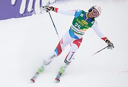 Elia Zurbriggen of Switzerland during 2nd run of Men's Giant Slalom race of FIS Alpine Ski World Cup 57th Vitranc Cup 2018, on 3.3.2018 in Podkoren, Kranjska gora, Slovenia. Photo by Urban Meglič / Sportida