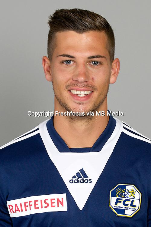 27.06.2014; Luzern; Fussball Super league - Portrait FC Luzern;<br /> Remo Freuler (FCL) (HO/freshfocus)