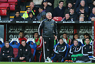 Chris Wilder manager of Sheffield Utd shouts from the touchline during the Premier League match at Selhurst Park, London. Picture date: 1st February 2020. Picture credit should read: Paul Terry/Sportimage