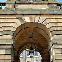 City Chambers&rsquo; Arcade in Edinburgh, Scotland<br />