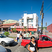 Downtown Zihuatanejo. High resolution panorama.