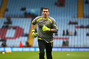 Burton Albion's Stephen Bywater warms up during the EFL Sky Bet Championship match between Aston Villa and Burton Albion at Villa Park, Birmingham, England on 3 February 2018. Picture by John Potts.