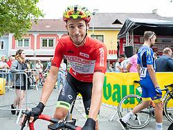 09.07.2019, Frohnleiten, AUT, Ö-Tour, Österreich Radrundfahrt, 3. Etappe, von Kirchschlag nach Frohnleiten (176,2 km), im Bild Jannik Steimle (Team Vorarlberg Santic, GER) Kindberg // Jannik Steimle (Team Vorarlberg Santic GER) Kindberg during 3rd stage from Kirchschlag to Frohnleiten (176,2 km) of the 2019 Tour of Austria. Frohnleiten, Austria on 2019/07/09. EXPA Pictures © 2019, PhotoCredit: EXPA/ Johann Groder