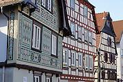 Fachwerk, Altstadt, Bensheim, Bergstraße, Hessen, Deutschland | old town, Bensheim, Bergstrasse, Hesse, Germany