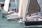 The start of the Coastal Classic, Auckland to Russel race. 23/10/2015